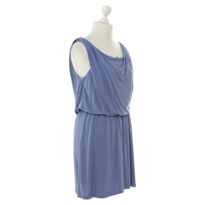 Halston Heritage Blaues Abendkleid
