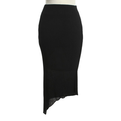 McQ Alexander McQueen Asymmetrical skirt in black