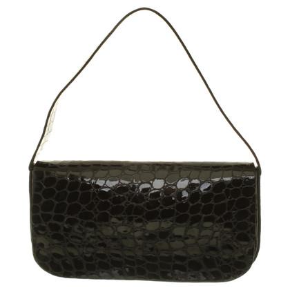 Jil Sander Patent leather shoulder bag
