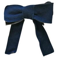 Lanvin Denim bow tie