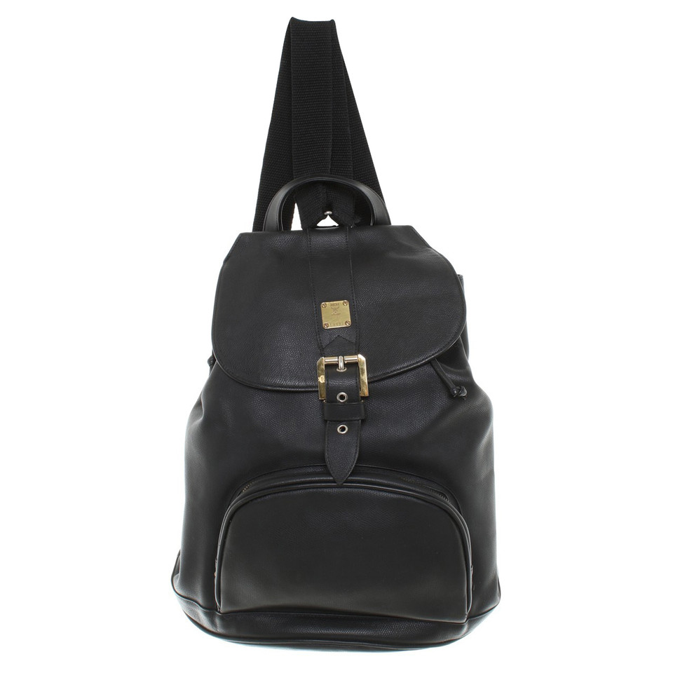 mcm rucksack in schwarz second hand mcm rucksack in schwarz gebraucht kaufen f r 550 00. Black Bedroom Furniture Sets. Home Design Ideas