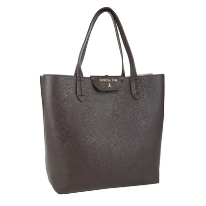 "Patrizia Pepe ""Large shopper PU marrone oro scuro"""
