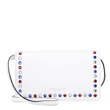 "Marc Jacobs ""P.Y.T. Cross Body Star White"""
