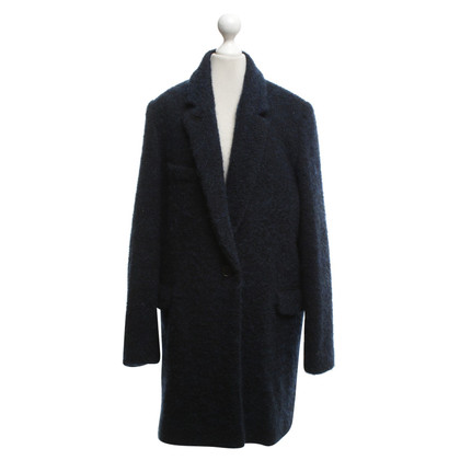Isabel Marant Etoile Manteau en bleu foncé