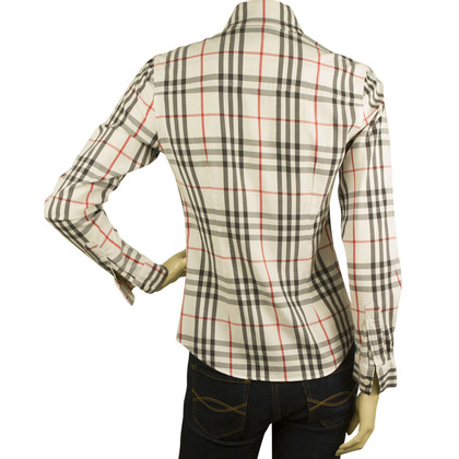 Burberry camicetta Plaid