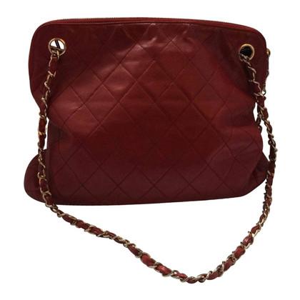 Chanel Schoudertas in het rood