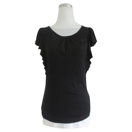 Escada Top in nero