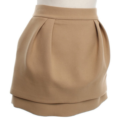 Maje Mini rok met plooien detail