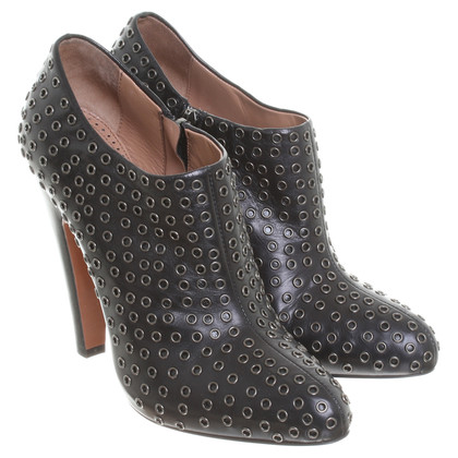 Alaïa Ankle boots with rivets details