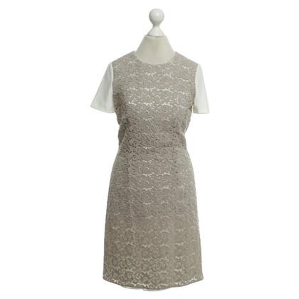 Hugo Boss Kleid mit Häkelspitze