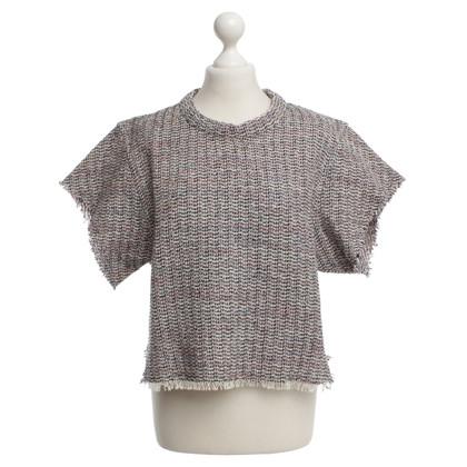 Iro Kurzarm-Pullover mit Muster