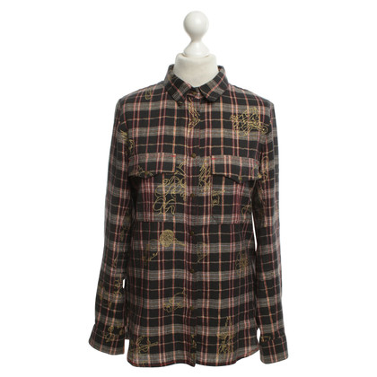 Zadig & Voltaire Checked blouse in color