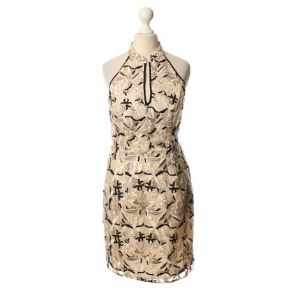 Hoss Intropia Neckholder-Kleid mit Blumen-Muster