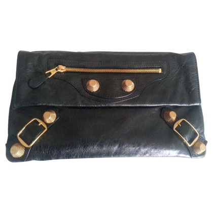 "Balenciaga ""Arena Gold Giant 12 Envelope Clutch"""