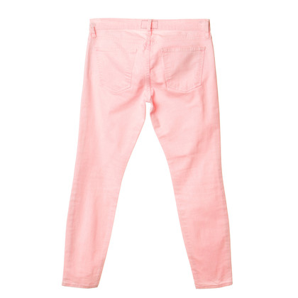Current Elliott Jeans in neon rosa