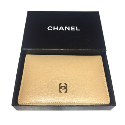 Chanel Mini-Agenda leder