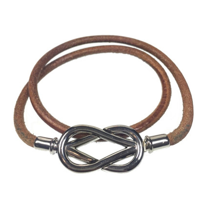 "Hermès Armband ""Infinity dubbel tour"""