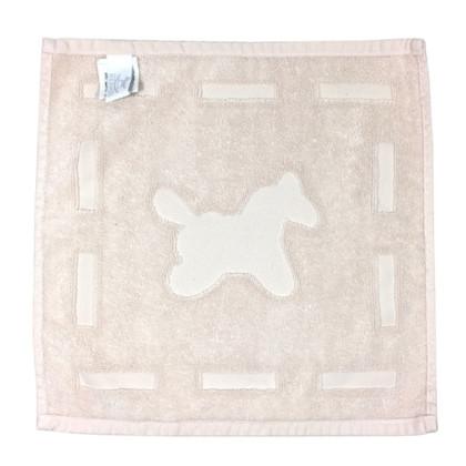 Hermès Small towel with horse motif