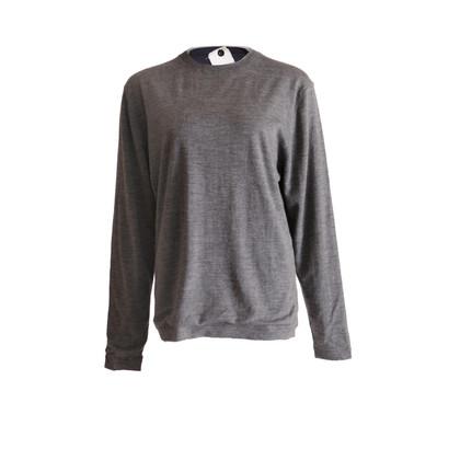 Andere merken Eenheid - grijze wollen trui