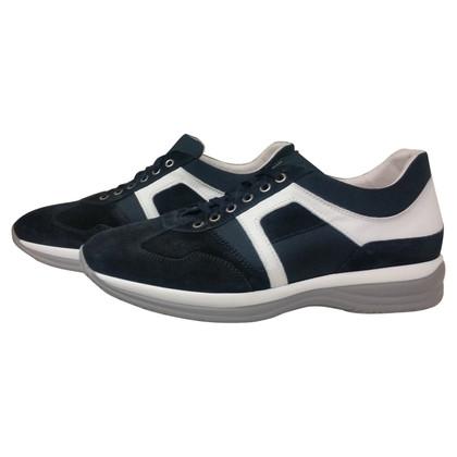 Cesare Paciotti Sneaker in blu / bianco