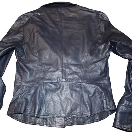 Armani Jeans Leather Blazer