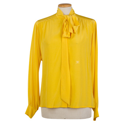 Céline Button blouse silk