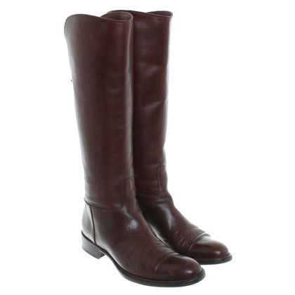 Loro Piana Brown leather boots