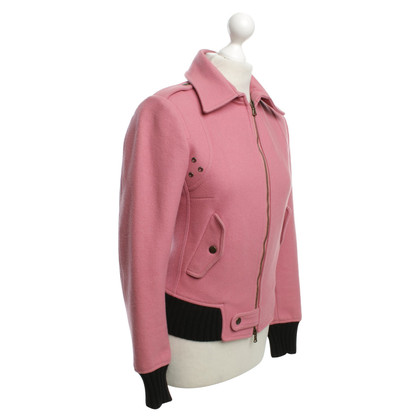 Costume National Jacket in Pink