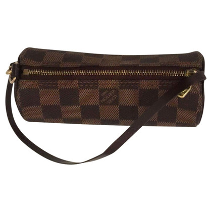 "Louis Vuitton ""Papillon Pochette Damier Ebene Canvas"""