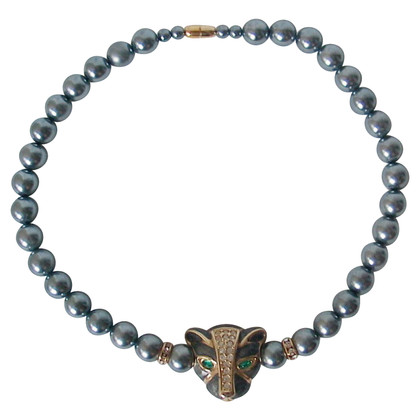 Kenneth Jay Lane Necklace with panther motif