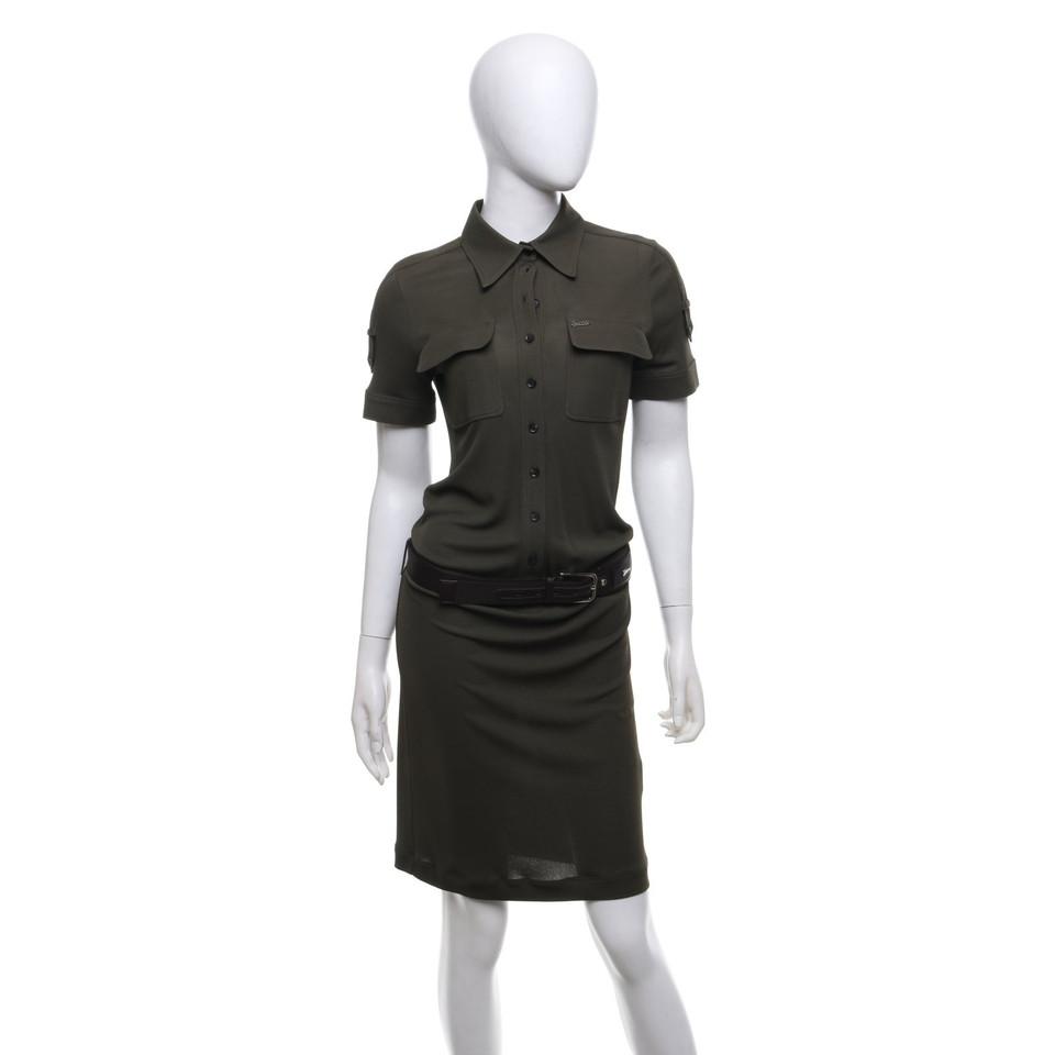 Gucci Kleid mit Ledergürtel