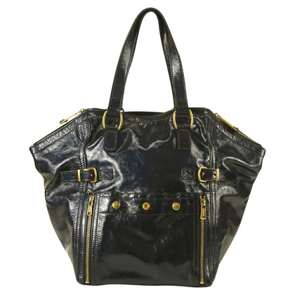 "Yves Saint Laurent ""Blauwe centrum Bag"""