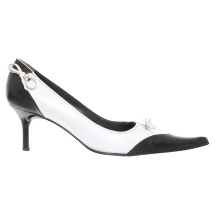 Luciano Padovan pumps in zwart / White