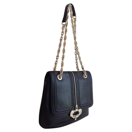 Versace Shoulder bag with decorative buckle