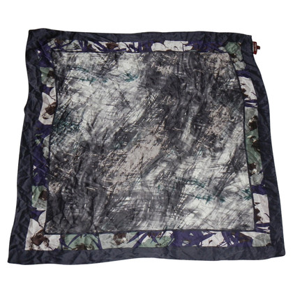 Max Mara Silk scarf with print