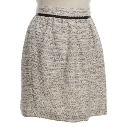 Comptoir des Cotonniers skirt with bouclé structure