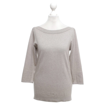 Allude Sweater in Greige