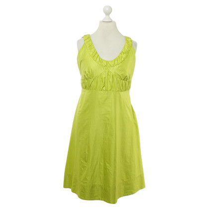 Luisa Cerano Dress in Apple green colors