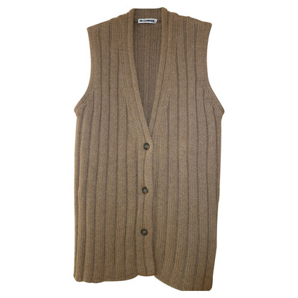 Jil Sander Cashmere Cardigan without sleeves