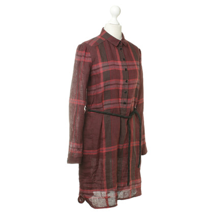 Burberry Shirt dress in red