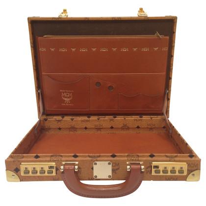 MCM Vintage-Aktenkoffer