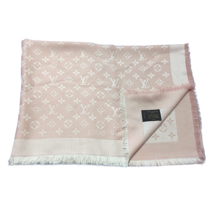 Louis Vuitton Monogram Denim in roze doek
