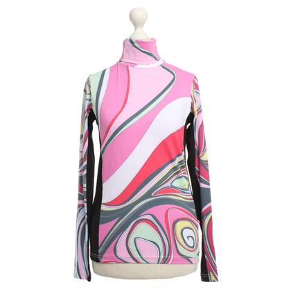 Emilio Pucci Turtleneck shirt pattern