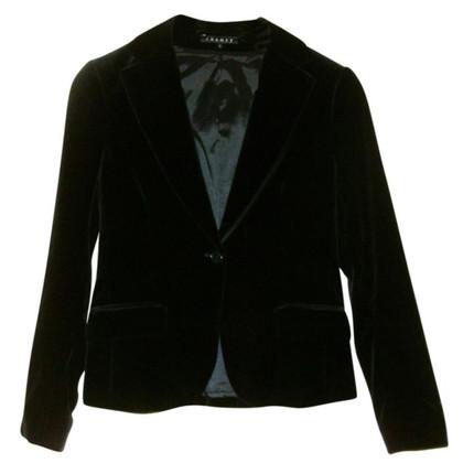 Theory Black velvet Blazer