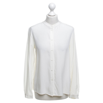 Hemisphere Blouse in creamy white