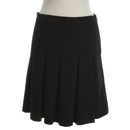 Diane von Furstenberg Pleated skirt in black