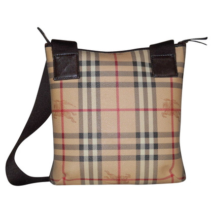 Burberry Cross Body Bag mit Haymarket Muster