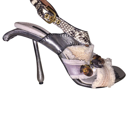 Marc Jacobs Sandaletten aus Materialmix