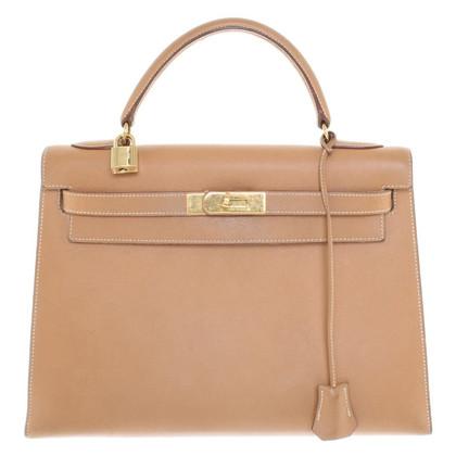 """Hermès """"Kelly Bag 32"""" in light brown"""