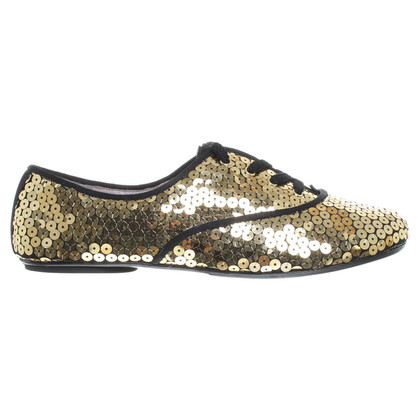 Marc by Marc Jacobs Scarpe stringate con paillettes trim